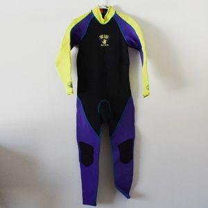 Retro 80's body glove men's full wetsuit  BAYWATCH